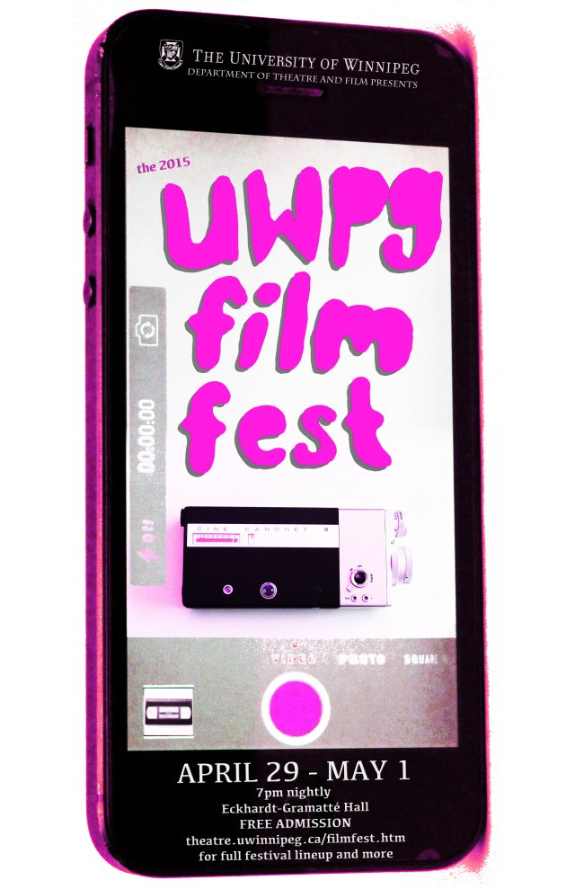 The 2015 UWpg film fest graphic to come